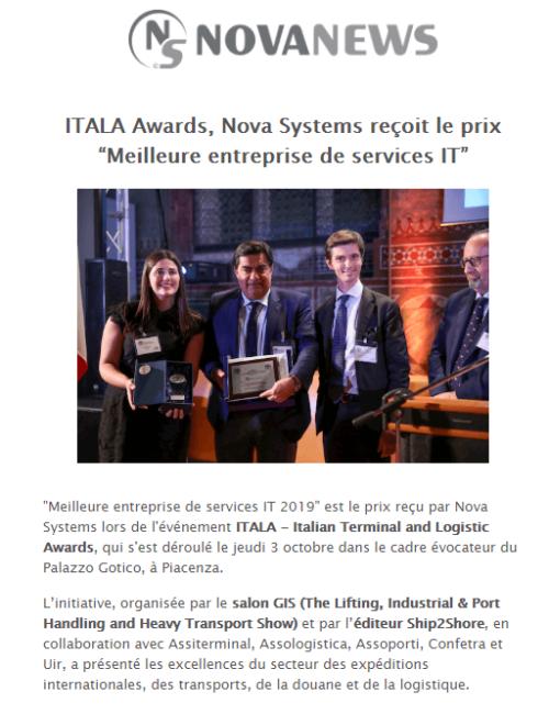 Itala Awards Fra